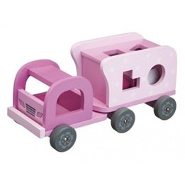 Kids Concept, Star - Klosslastbil Rosa