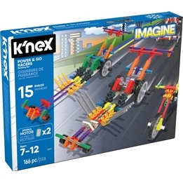 K'Nex, 33017 Power & Go Racers Building Set