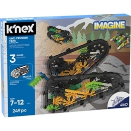 K'Nex, 13127 4wd Crusher Tank Buildingset