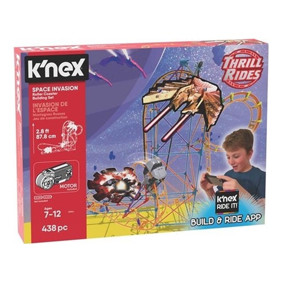K'Nex, 27044 Space Invasion Roller Coster Buildingset