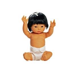 Docka Tiny flicka Hår Asien 33 cm