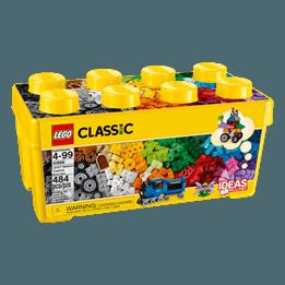 LEGO Classic 10696, Fantasiklosslåda mellan