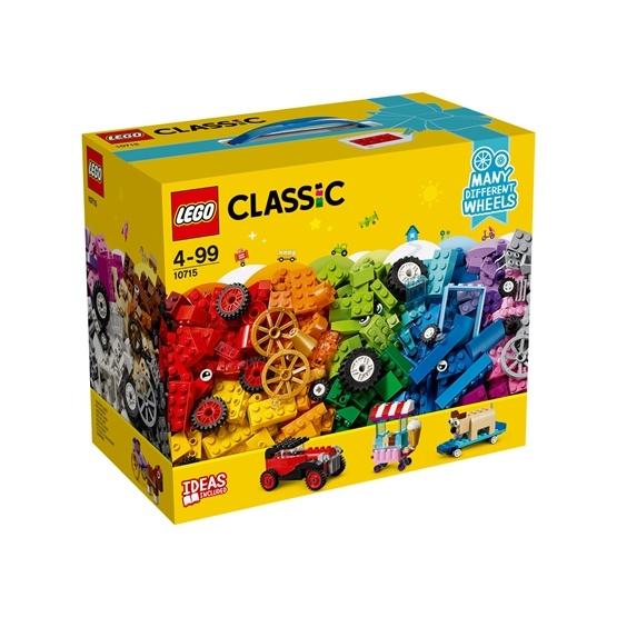 LEGO Classic 10715, Klossar på väg