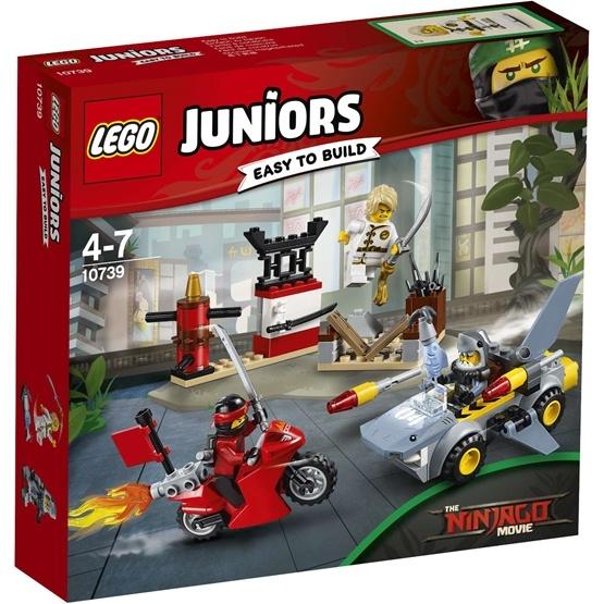 LEGO Juniors 10739, Hajattack