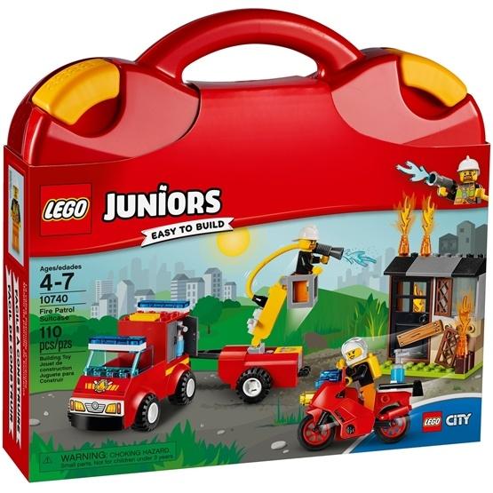 LEGO Juniors 10740, Brandsläckningsväska