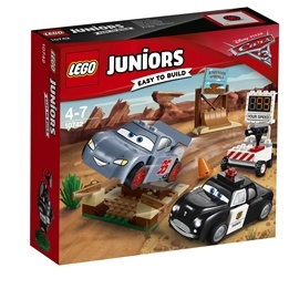LEGO Juniors Cars - Fartträning i Willy's Butte 10742