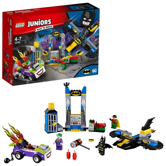 LEGO Juniors 10753, Jokern – Attack mot Batgrottan