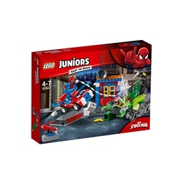 LEGO Juniors - Spider-Man vs. Scorpion: Gatustrid 10754