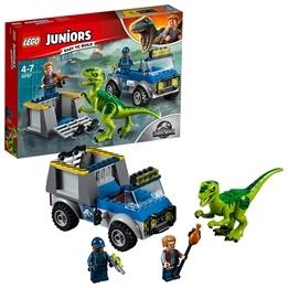 LEGO Juniors - Velociraptor - räddningsbil 10757