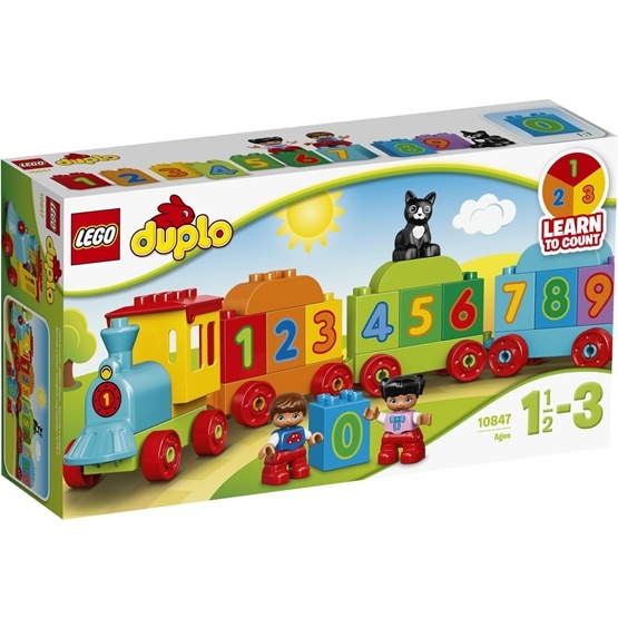 LEGO DUPLO 10847, Siffertåg