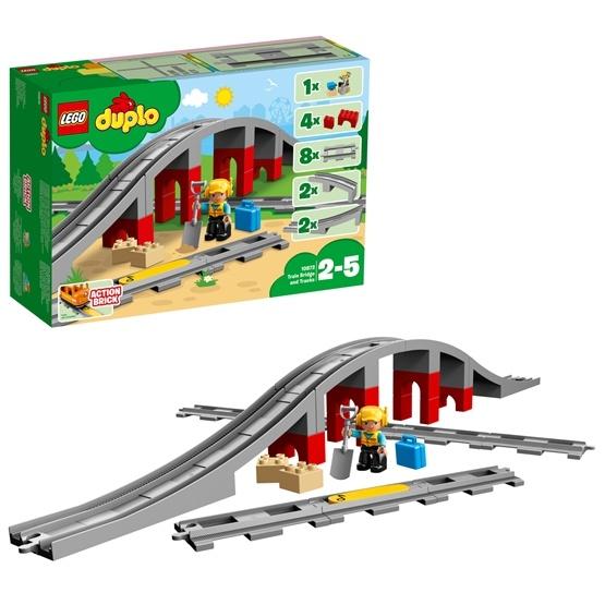 LEGO DUPLO Town 10872, Tågbro och räls