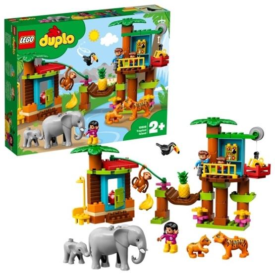 LEGO DUPLO Town 10906 - Tropisk ö