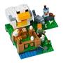LEGO Minecraft 21140, Hönshuset