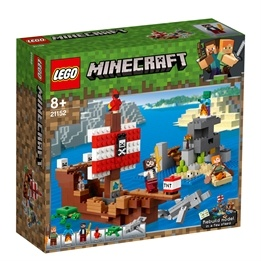 LEGO Minecraft 21152 - Piratskeppsäventyr