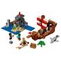 LEGO Minecraft 21152, Piratskeppsäventyr