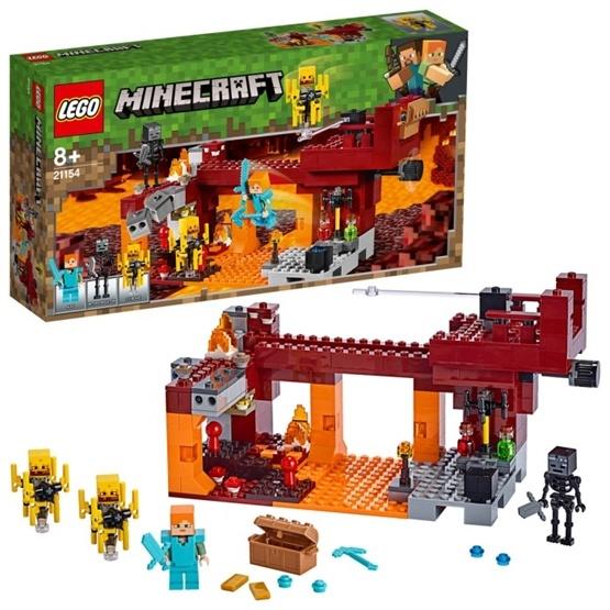LEGO Minecraft 21154 - Den flammande bron