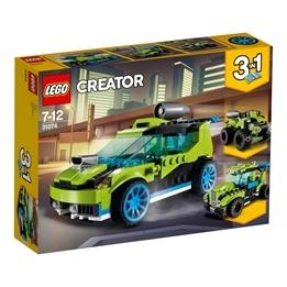 LEGO Creator - Raketrallybil 31074