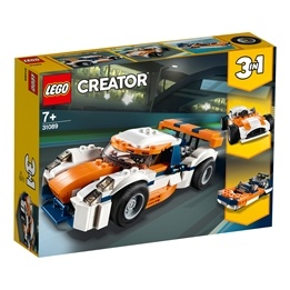 LEGO Creator 31089 - Orange racerbil