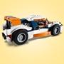 LEGO Creator 31089, Orange racerbil