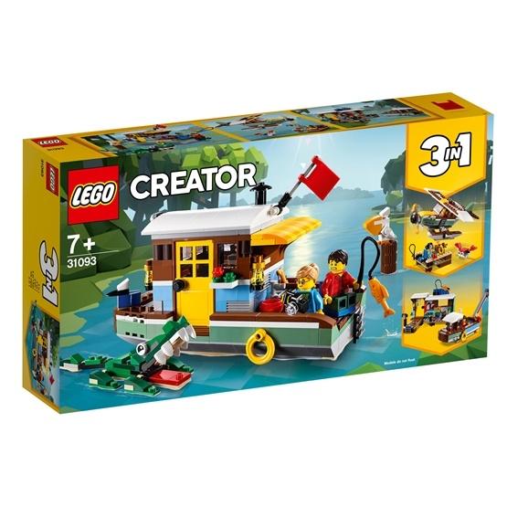 LEGO Creator 31093, Flodhusbåt
