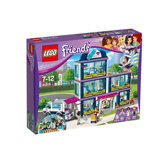 LEGO Friends 41318, Heartlakes sjukhus