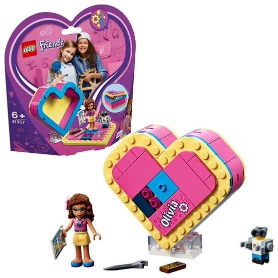 LEGO Friends 41357, Olivias hjärtask