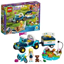 LEGO Friends 41364 - Stephanies buggy med släp