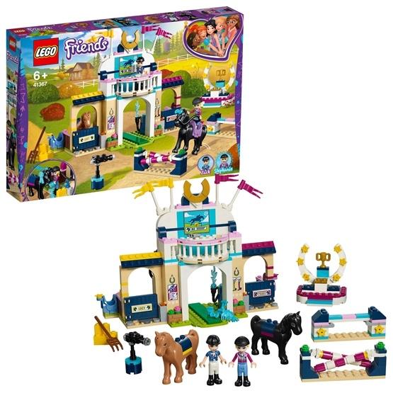 LEGO Friends 41367, Stephanies hästhoppning