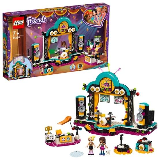 LEGO Friends 41368, Andreas talangshow