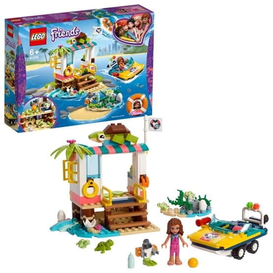 LEGO Friends 41376 - Sköldpaddsräddning