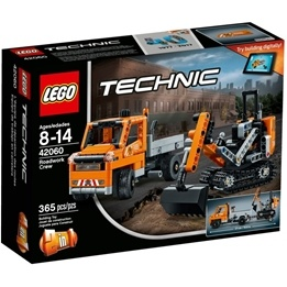 LEGO Technic 42060, Vägarbetare