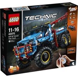 LEGO Technic - Terränggående 6x6-bärgningsbil 42070