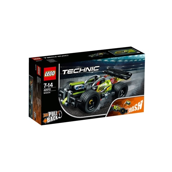 LEGO Technic 42072, KRASCH!