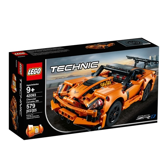 LEGO Technic 42093, Chevrolet Corvette ZR1