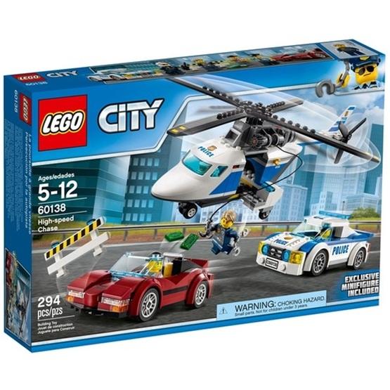 LEGO City Police 60138, Höghastighetsjakt