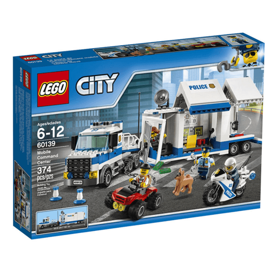 LEGO City Police 60139, Mobil kommandocentral