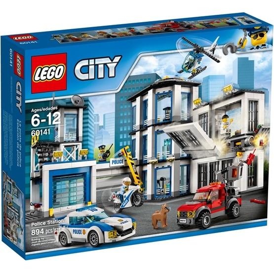 LEGO City Police 60141, Polisstation
