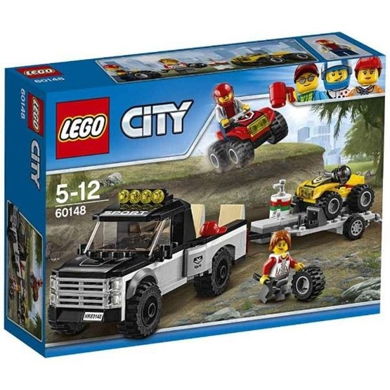 LEGO City Great Vehicles 60148, Fyrhjulingsracerteam