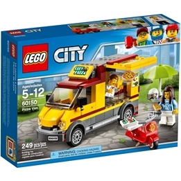 LEGO City Great Vehicles 60150, Pizzabil