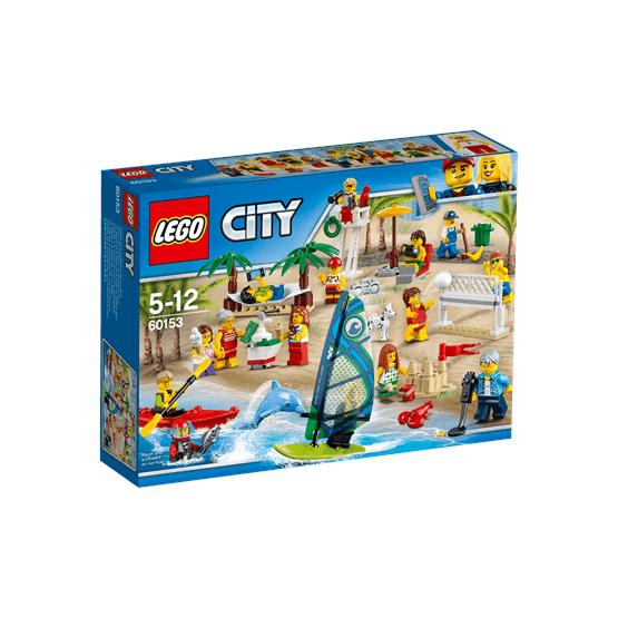 LEGO City Town 60153, Figurpaket – Kul på stranden