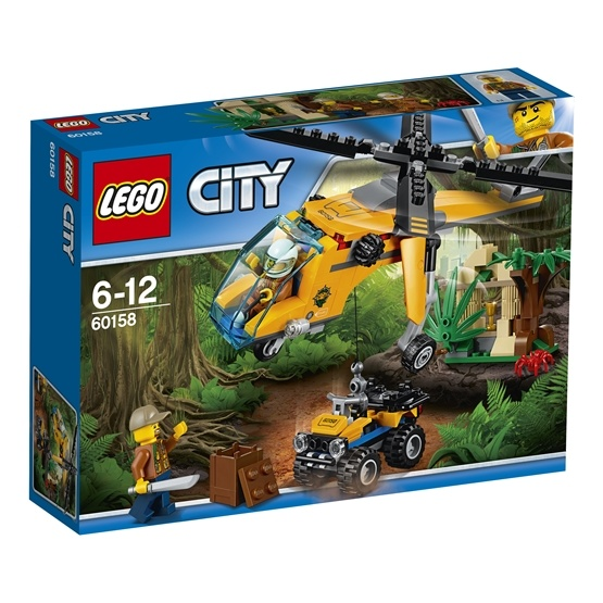 LEGO City Jungle Explorers 60158, Djungel – transporthelikopter