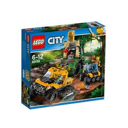 LEGO City - Djungel uppdrag med halvbandvagn 60159