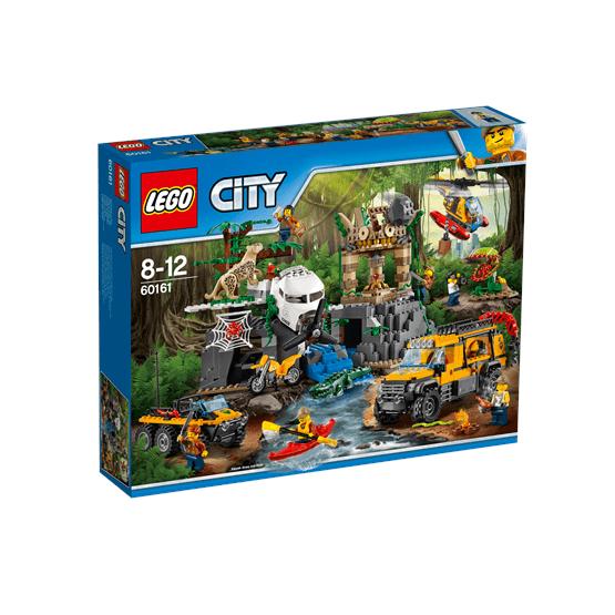 LEGO City Jungle Explorers 60161, Djungel – forskningsplats