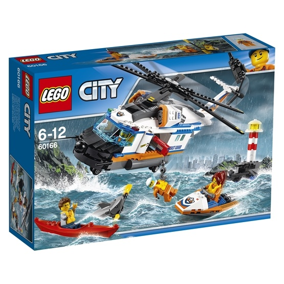 LEGO City Coast Guard 60166, Tung räddningshelikopter