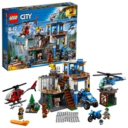 LEGO City - Bergspolisens högkvarter 60174