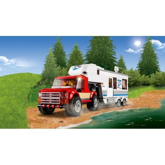 Vatten krok Camping