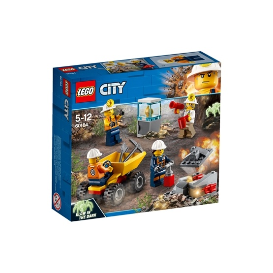 LEGO City Mining 60184, Gruvteam