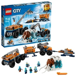 LEGO City Arctic Expedition - Arktisk mobil utforskningsbas 60195
