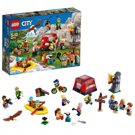 LEGO City Town 60202 - Figurpaket - Utomhusäventyr