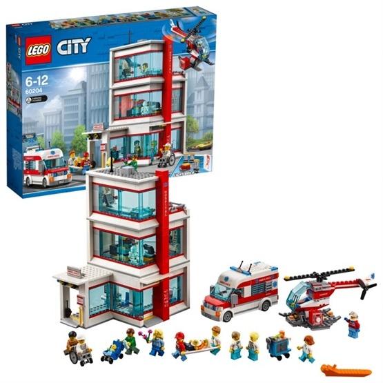 LEGO City Town 60204 - LEGO City sjukhus